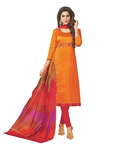 Kameez Silk Salwar Dress - Womens Blended Silk Handworked Salwar Kameez with Banarasi Dupatta Womens Indian Pakistani Dress Ready to wear Salwar Suit