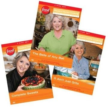 Paula's Home Cooking Volume 4-6 DVD Box Set Collection: Complete Sweets (3 DVD Set), The Belle of Any Ball (3 DVD Set), and It Ain't Just Grits (3 DVD Set)