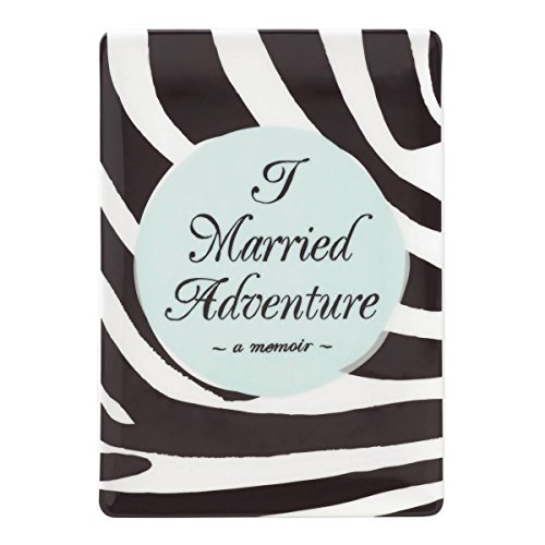 (kate spade new york A Way with Words Married Adventure Vanity Tray or Jewelry Tray, Black and White Porcelain)