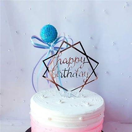 Amazon 1 Piece 2018 Novelty Multi Style Glitter Happy Birthday