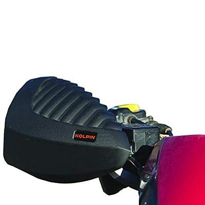 Kolpin ATV Hand Guard with Mirror - 97300: Automotive
