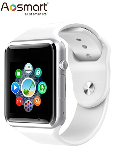 aosmart-bluetooth-touch-screen-smart-wrist-watch-phone-with-camera-white