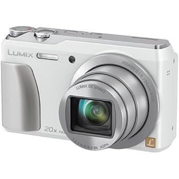 Panasonic DMC-ZS35W Digital Camera with 3.0-Inch TFT LCD (White)