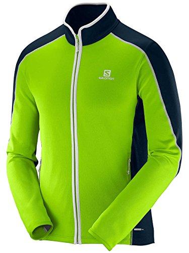 Salomon Ml Atlantis Fz M Gr - T-shirt für Herren, Farbe Grün, Größe S