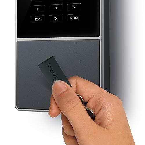 TimeMoto TM-616 - Terminal para fichar con tarjeta o llave RFID y PIN. Hasta 200 usuarios. Incluye software TimeMoto PC - Garantiza el cumplimiento del ...