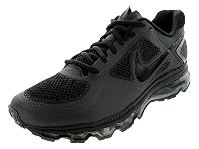 Nike Men\u0026#39;s NIKE AIR TRAINER 1.3 MAX BREATHE TRAINING SHOES 13 (BLACK/BLACK/BLACK)