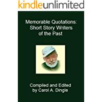 Memorable Quotations: Short Story Writers of the Past