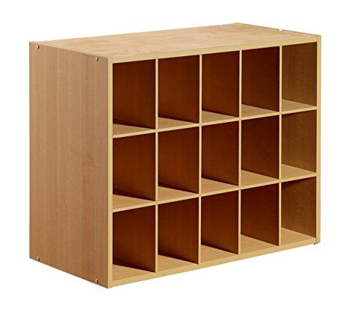 15-Cube Organizer, Maple (Cube Organizer 15)