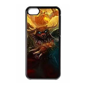 iPhone 5c Cell Phone Case Black League of Legends Primal Udyr Tbihe