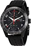 Watches : Montblanc Men's TimeWalker 43mm Black Rubber Band IP Steel Case Automatic Analog Watch 116101
