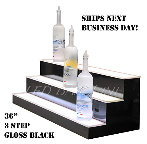 Bottle Liquor Shelves (LED Lighted Liquor Display Shelf 36