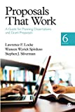 Download Proposals That Work: A Guide for Planning Dissertations and Grant Proposals in PDF ePUB Free Online