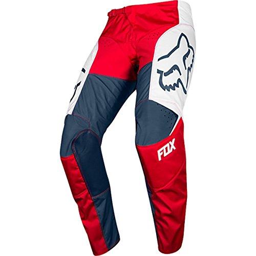 Fox Racing 180 Przm Men's Off-Road Motorcycle Pants - Navy/Red / 34