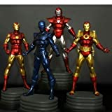 Iron Man Exclusive Bowen Designs Statue 4 Pack