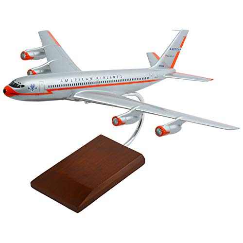 (B727-200 American Quality Desktop Model Plane / Unique and Perfect Gift Idea / Museum Quality Handcrafted Commercial Jet Airliner Replica Display / Collectible Gift Toy)