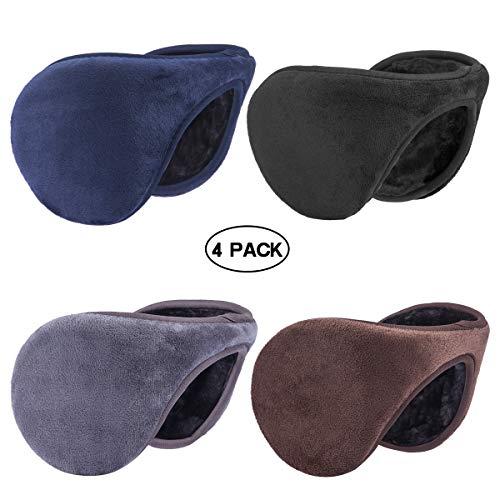 Metog Winter Outdoor Earmuffs Fleece Ear Warmer Four ()
