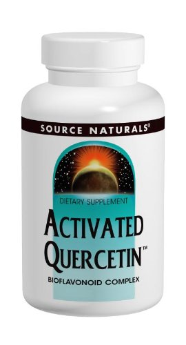 Source Naturals Activated Quercetin Bioflavonoid Complex Pineapple Enzyme With Bromelain, Magnesium & Vitamin C 100 Tablets