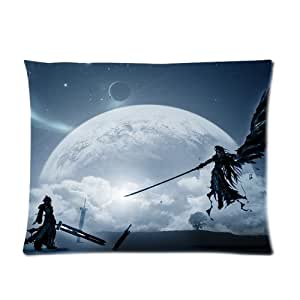 Final Fantasy Custom Picture Pillow Cases 20x26 (one side)