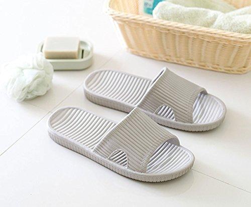 Mule House Men Slip Sandals Outdoor Bathroom Men Water Minetom® Unisex Shoes Pool Soft Indoor Sole Non Slippers Flip Women Shower Slip Grey On Flop B 4xwPSv