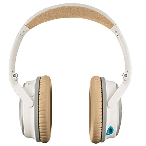 Bose QuietComfort 25 Acoustic Noise Cancelling Headphones for Apple devices, White(wired, 3.5mm)