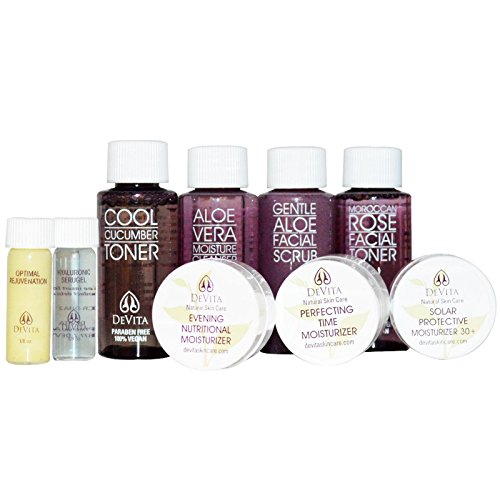 Devita Natural Skin Care Try-Me Anti-Aging Sampler Kit