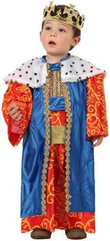 Atosa-12780 Atosa-12780-Disfraz Rey Mago niño bebé-Talla 0 a 6 ...
