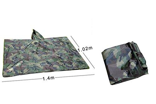 alpinismo poncho sportiva da in impermeabile da per mimetica per RFVBNM mantello montagna adulto outdoor qpY1F18
