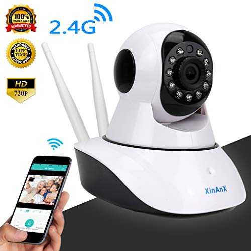 Home Security Camera System Wireless Pet Camera Dog Camera with Phone App Speaker, Pan Tilt Zoom WiFi Camera Indoor IP Surveillance Camera Dome, Motion Alarm for Baby Monitor/Elder/Office Nanny Cam