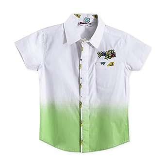 Scooby-Doo Boys Shirt,white/Green