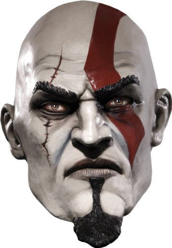 God of War Adult Kratos Mask, Multicolored, One -