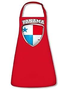 Fan Delantal Panama Escudo Delantal, delantal con cuello ajustable VERS. Color Gol ebros