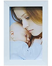 Porta Retrato Para Foto no Tamanho 13X18cm Kapos Branco