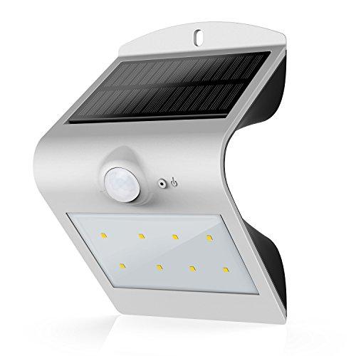 B And M Solar Wall Lights : 40% OFF! Honesteast Solar Wall Lights Outdoor Solar Powered Motion Sensor Security Light (Silver)