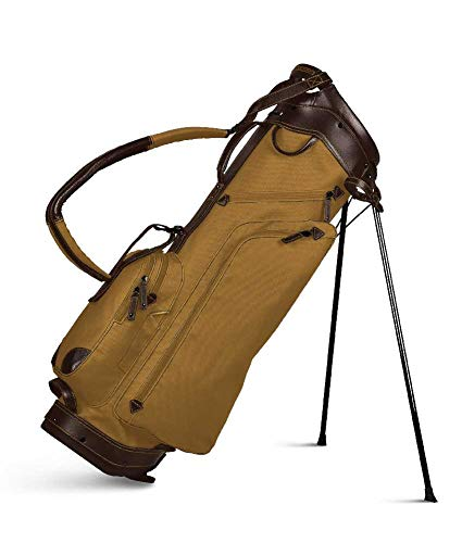 Sun Mountain 2020 Canvas/Leather Stand Bag - Clay-Brown