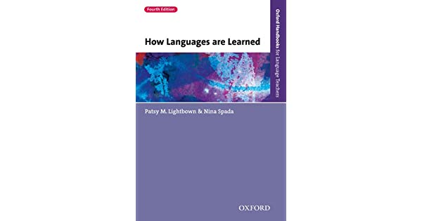 How languages are learned 4th edition oxford handbooks for how languages are learned 4th edition oxford handbooks for language teachers ebook patsy m lightbown nina spada amazon loja kindle fandeluxe Choice Image