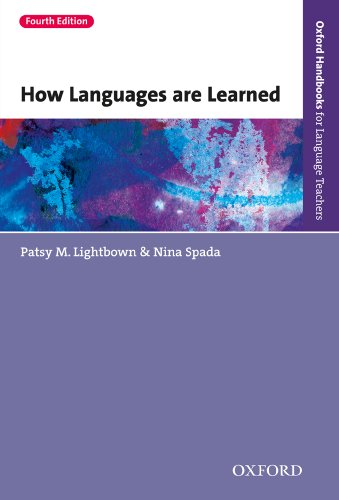 How languages are learned 4th edition oxford handbooks for how languages are learned 4th edition oxford handbooks for language teachers por lightbown fandeluxe Choice Image