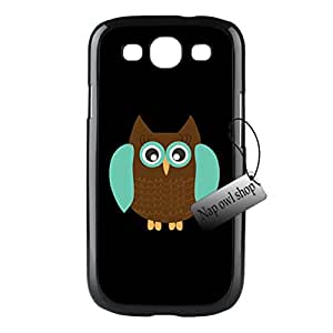 Owl Teachers Custom Images Hard Black Case Durable Cover For Samsung Galaxy S3 i9300 Good Gift
