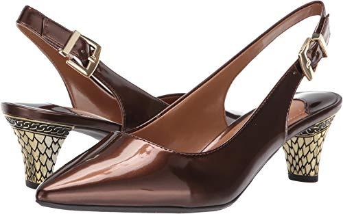 (J. Renee Women's Mayetta Bronze Synthetic 12 M US)