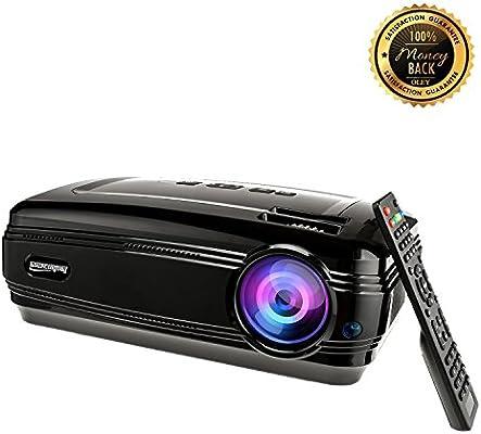 Sourcingbay - Proyector de vídeo portátil Cine en casa cine - 2600 ...
