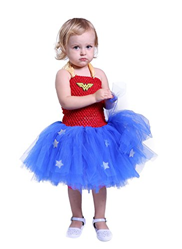 Tutu Dreams Halloween Costumes for Girls (6, Wonder)