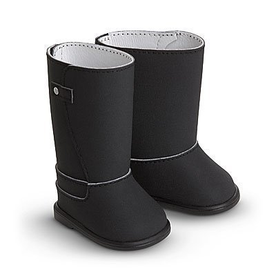 American Girl Fashion Boots for Dolls (Black)