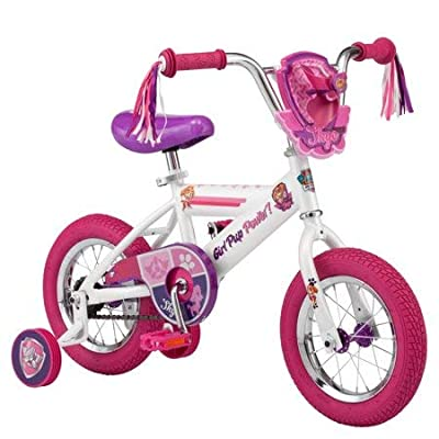 Pacific Cycle Kids Bicycle with Training Wheels Paw Patrol Skye, Pink and Purple: Sports & Outdoors