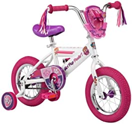 7b16c1b82882 Pacific Cycle Kids Bicycle with Training Wheels Paw Patrol Skye, Pink and  Purple