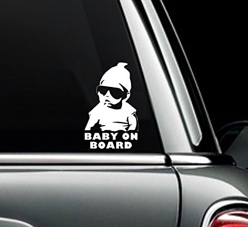 Baby on Board The Hangover Carlos Car Truck Window Bumper Sticker Decal Wall Art Macbook - Prius Sunglasses