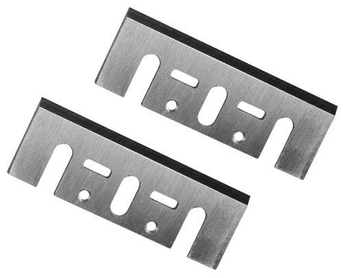 POWERTEC 128351 3-1/4-Inch Carbide Planer Blades for DeWalt DW6655 DW677, 678, 680K, Set of 2