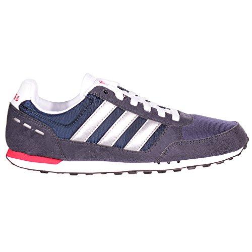 adidas City NEO, Retro Racer Herren Fashion Sneaker Schuh Marineblau