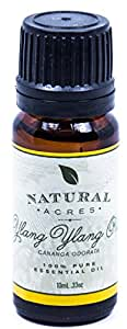 Ylang Ylang Essential Oil - 100% Pure Therapeutic Grade Ylang Ylang Oil by Natural Acres - 10ml