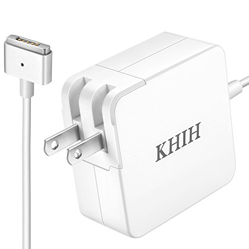KHIH Macbook Air Charger,Replacement 45W T-Tip Magsafe 2 Power Adapter charger for Apple Macbook Air 11 inch and 13 inch-12 months warranty