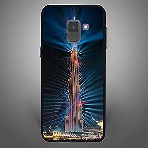 Samsung Galaxy A8 Plus Burj Khalifa Laser