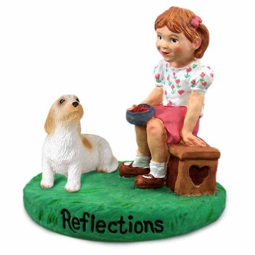 Conversation Concepts Petit Basset Griffon Vendeen Reflections w/Girl Figurine ()